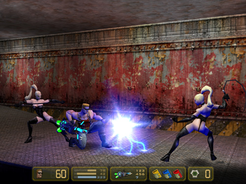 duke nukem manhattan project ray guns and robo-dominatrixs, oh my!