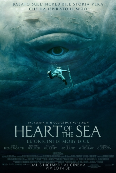 Heart of the sea 2015 locandina