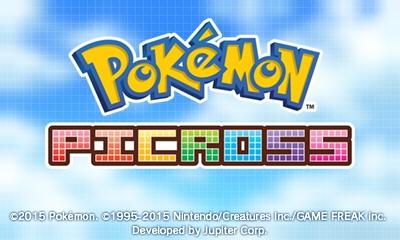 pokèmon picross logo