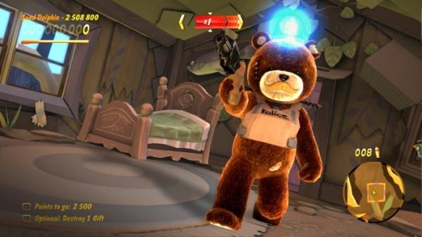 naughty bear i am the law