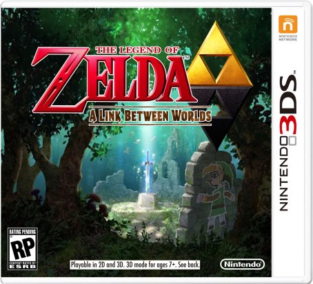 Zelda Between Worlds Cover
