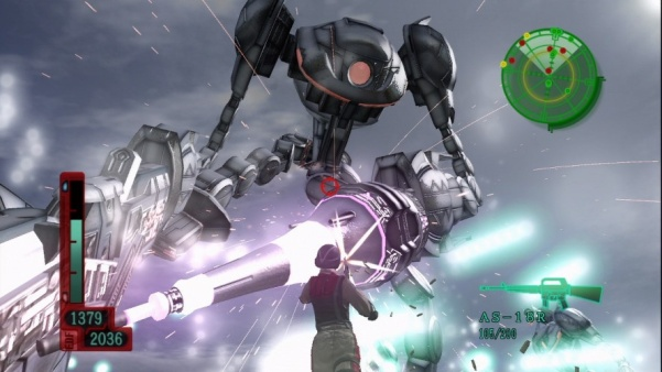 edf 2017 deadly robot, with lazers