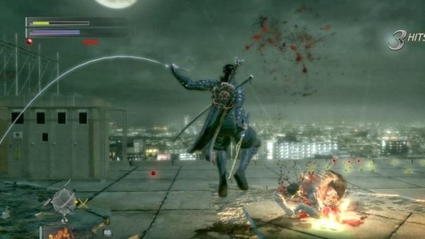 Ninja Blade gameplay, actual footage