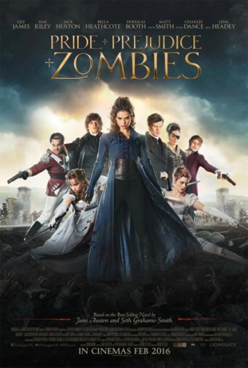 pride prejudice and zombies locandina