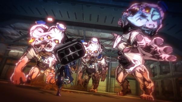 Yaiba Ninja Gaiden Z giant infants zombie ninja