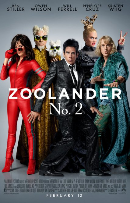 Zoolander 2 locandina