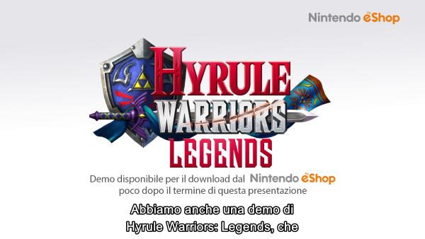 hyrule warriors legends demo