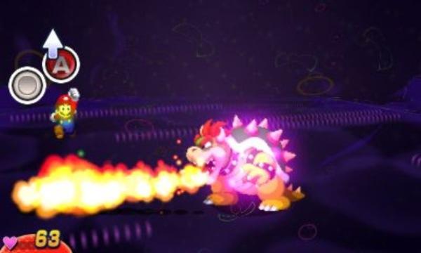 Mario e luigi dream team bros combat