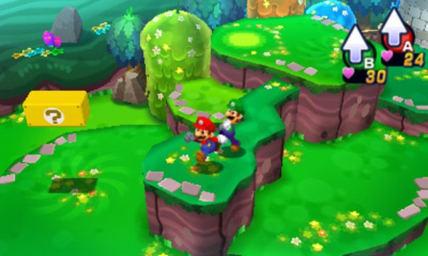 Mario e luigi dream team bros exploration
