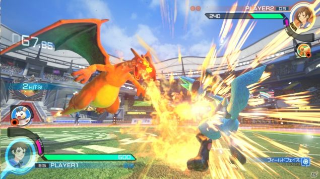 pokken tournament gameplay