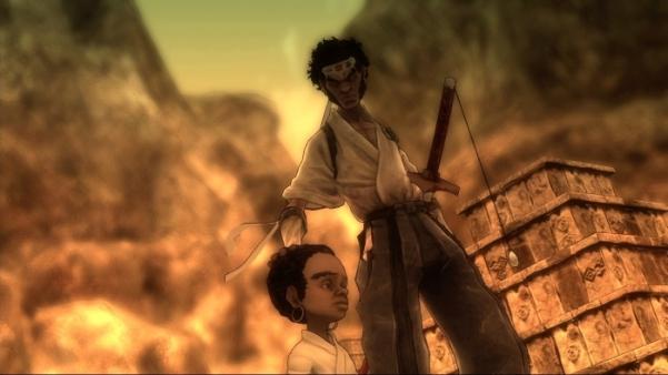 Afro Samurai x360 cutscene