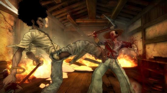 Afro Samurai x360 screenshot