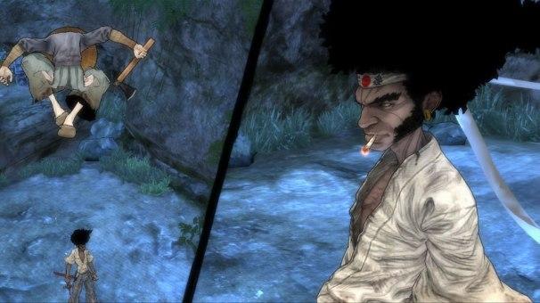 afro samurai x360 split screen effect