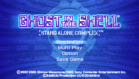 gits stand alone complex PSP