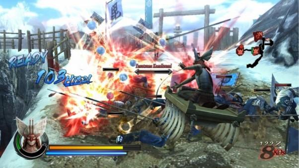 sengoku basara samurai heroes wii screenshot