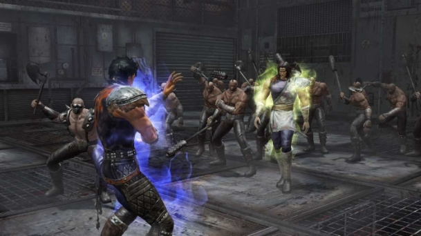 fist of the north star ken's rage amiba boss fight