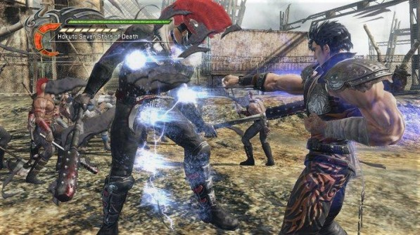 fist of the north star ken's rage screenshot 2
