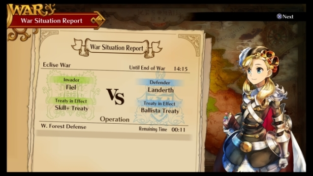 Grand Kingdom war reports
