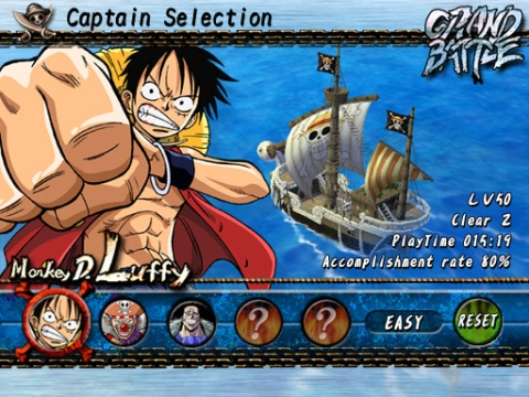 one piece grand adventure adventure mode