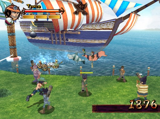 one piece grand adventure ps2 minigame
