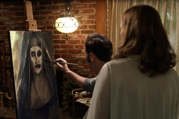 the conjuring 2 expressionist nun