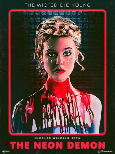 The neon demon vhs poster