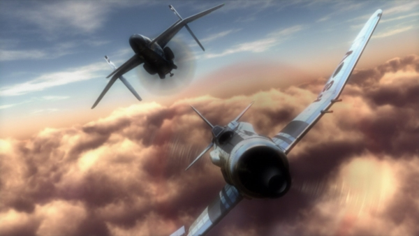 The Sky Crawlers screenshot