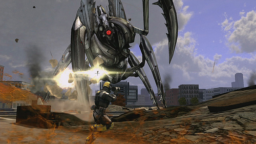 edf insect armageddon robo mantis in my pantys
