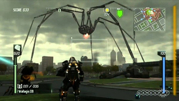 edf insect armageddon screenshot