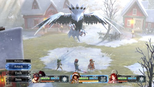 Setsuna battle