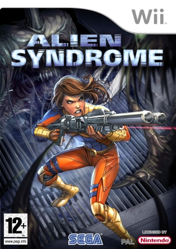 alien syndrome wii cover