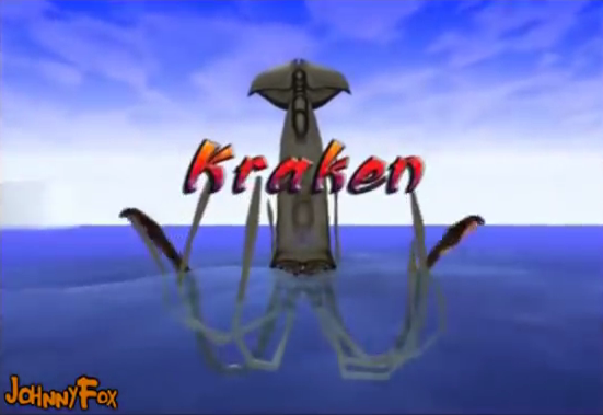 Deep Water ps2 kraken boss