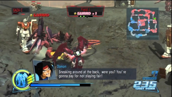 Dynasty Warriors Gundam domon
