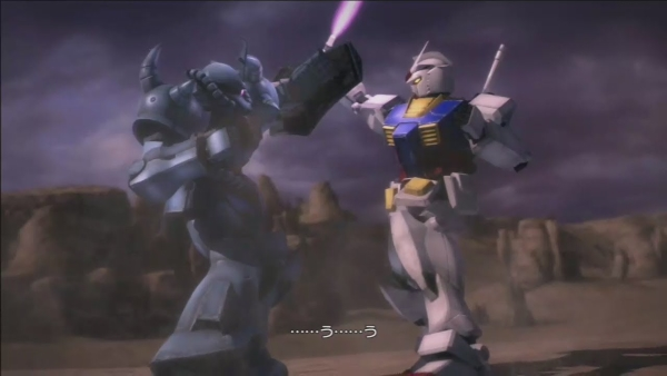 dynasty warriors gundam ps3 cutscene