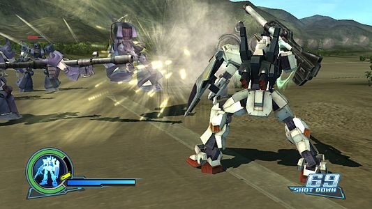 Dynasty warriors gundam screenshot 3