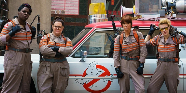 Ghostbusters 2016 the team