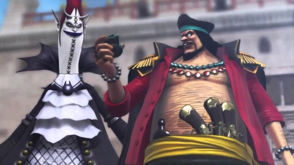 one piece pirate warriors 2 moria e barbanera
