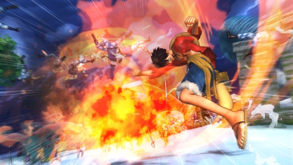 One Piece Pirate Warriors 2 musou attack