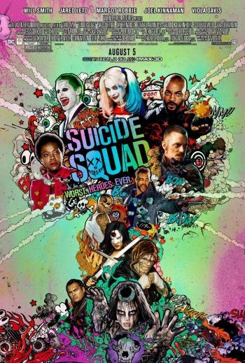 Suicide Squad locandina