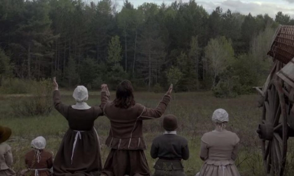 The Witch 2015 praying