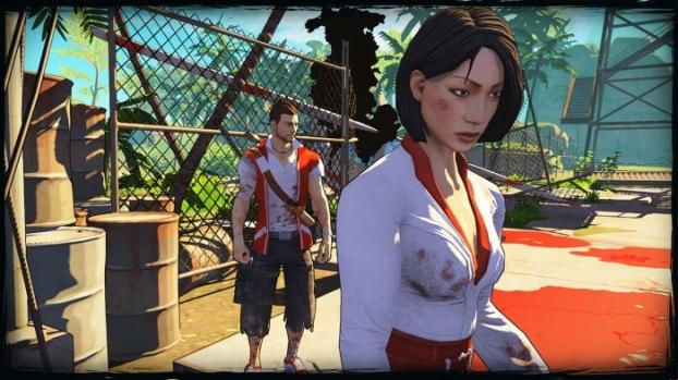 """Tra Xiao Mei e Shenhua di Black Lagoon è una bella gara di """"Liso Flitto""""."""