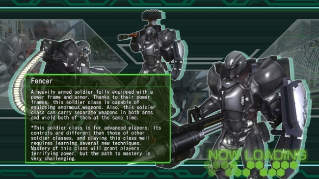 Earth Defense Force 4_1_ The Shadow of New Despair fencer