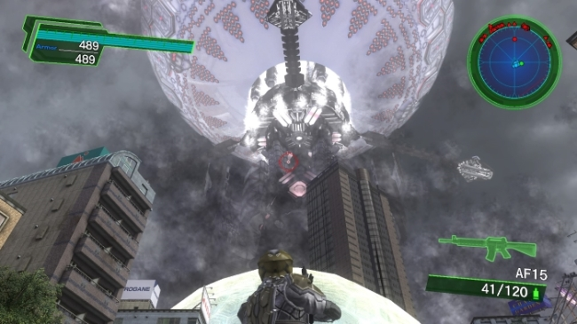 Earth Defense Force 4_1_ The Shadow of New Despair mothership