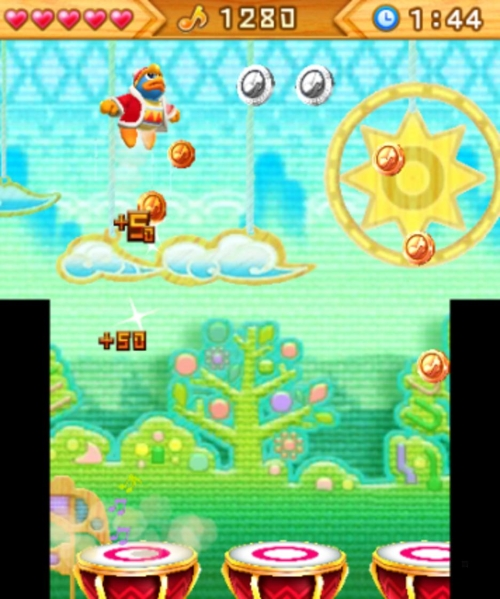 kirby-triple-deluxe-a-ritmo-con-king-dedede-minigame
