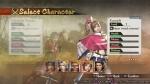 Samurai Warriors 4 characters selectscreen