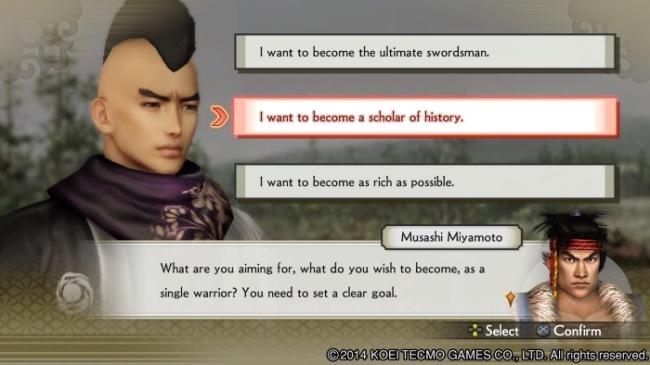 Samurai Warriors 4 chronicle mode intro