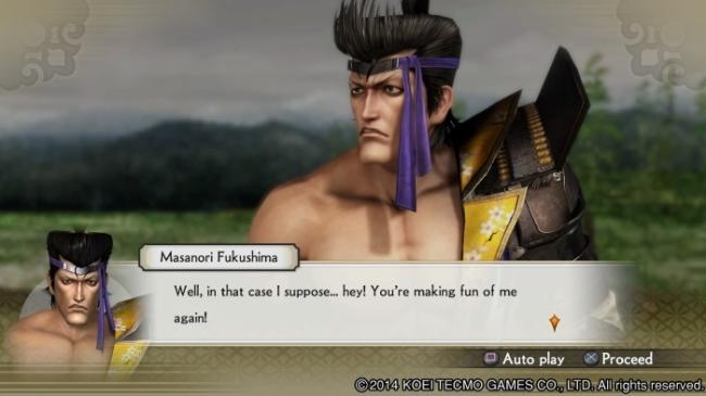 Samurai Warriors 4 Masanori Fukushima