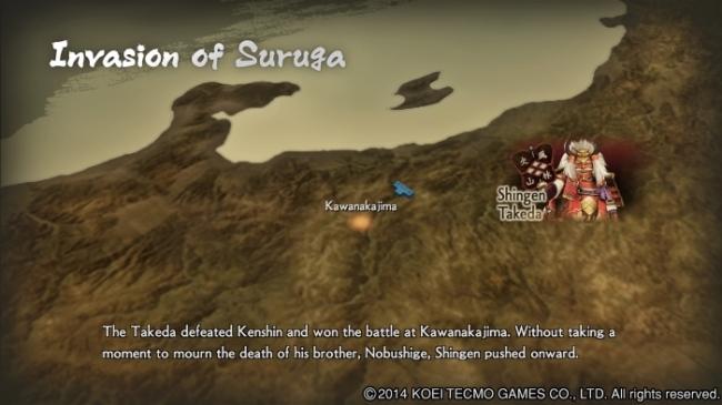 Samurai Warriors 4 story