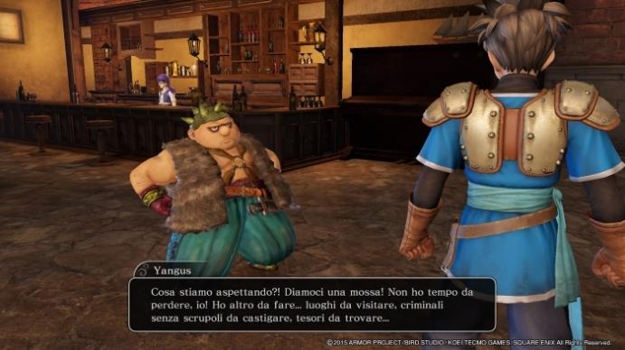 Dragon Quest Heroes yangus cor blimey