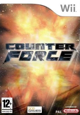 Counter Force Wii cover